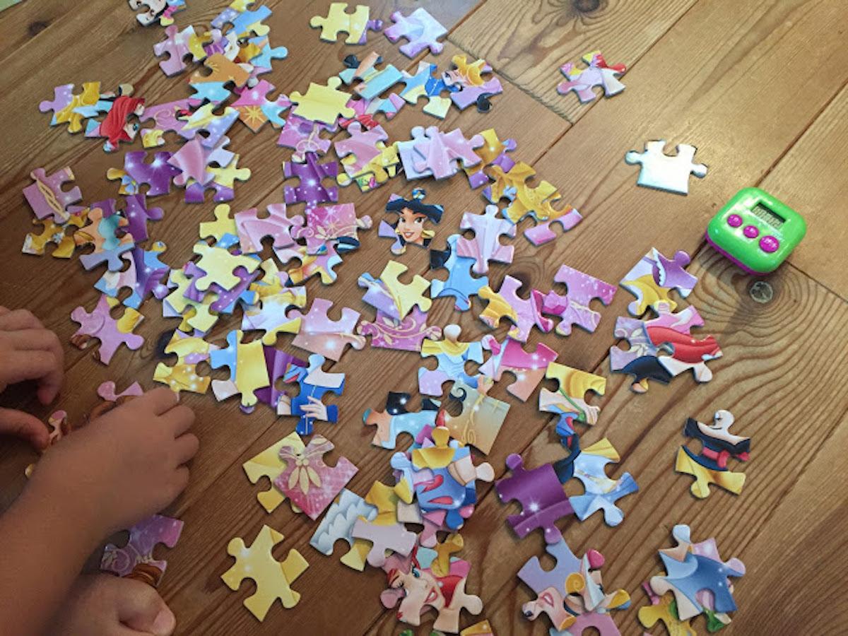 知育玩具パズル100ピース
