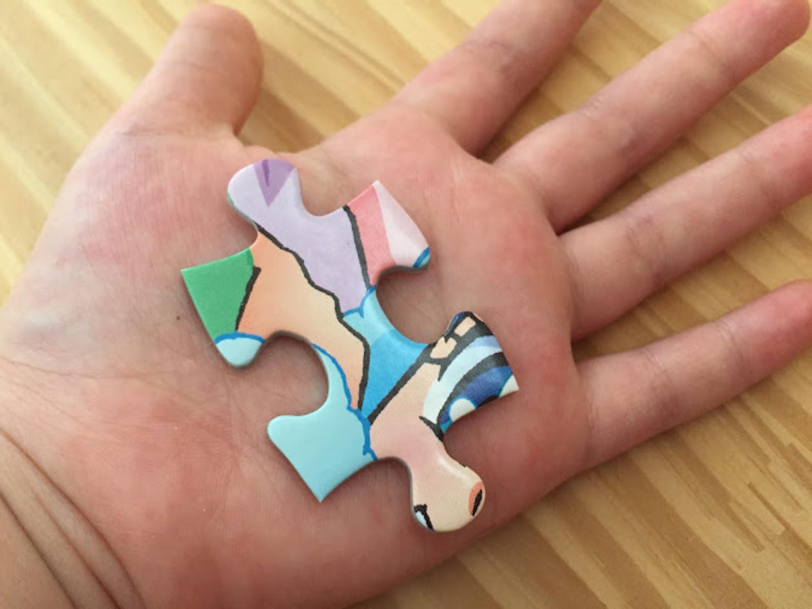 幼児ラージジグゾーパズル 500ピース