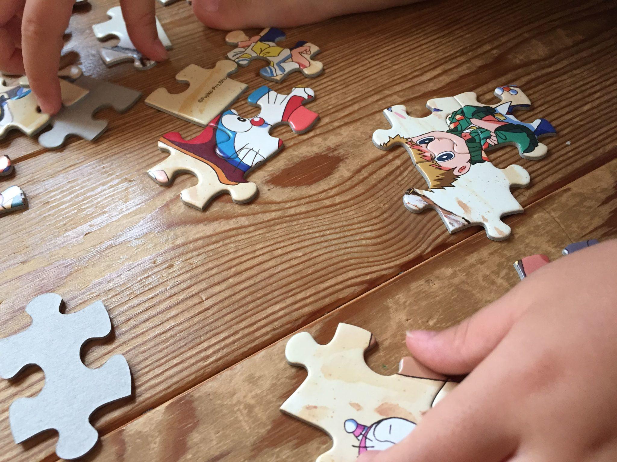 幼児ジグゾーパズル100ピース
