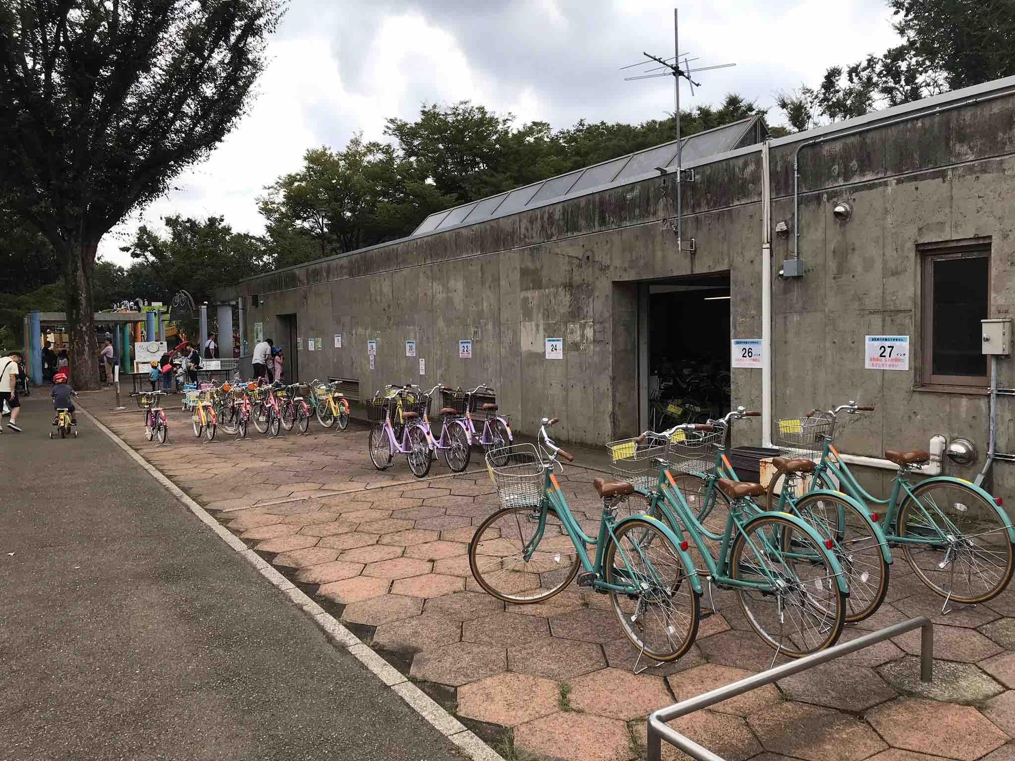 小金井公園自転車サイズ
