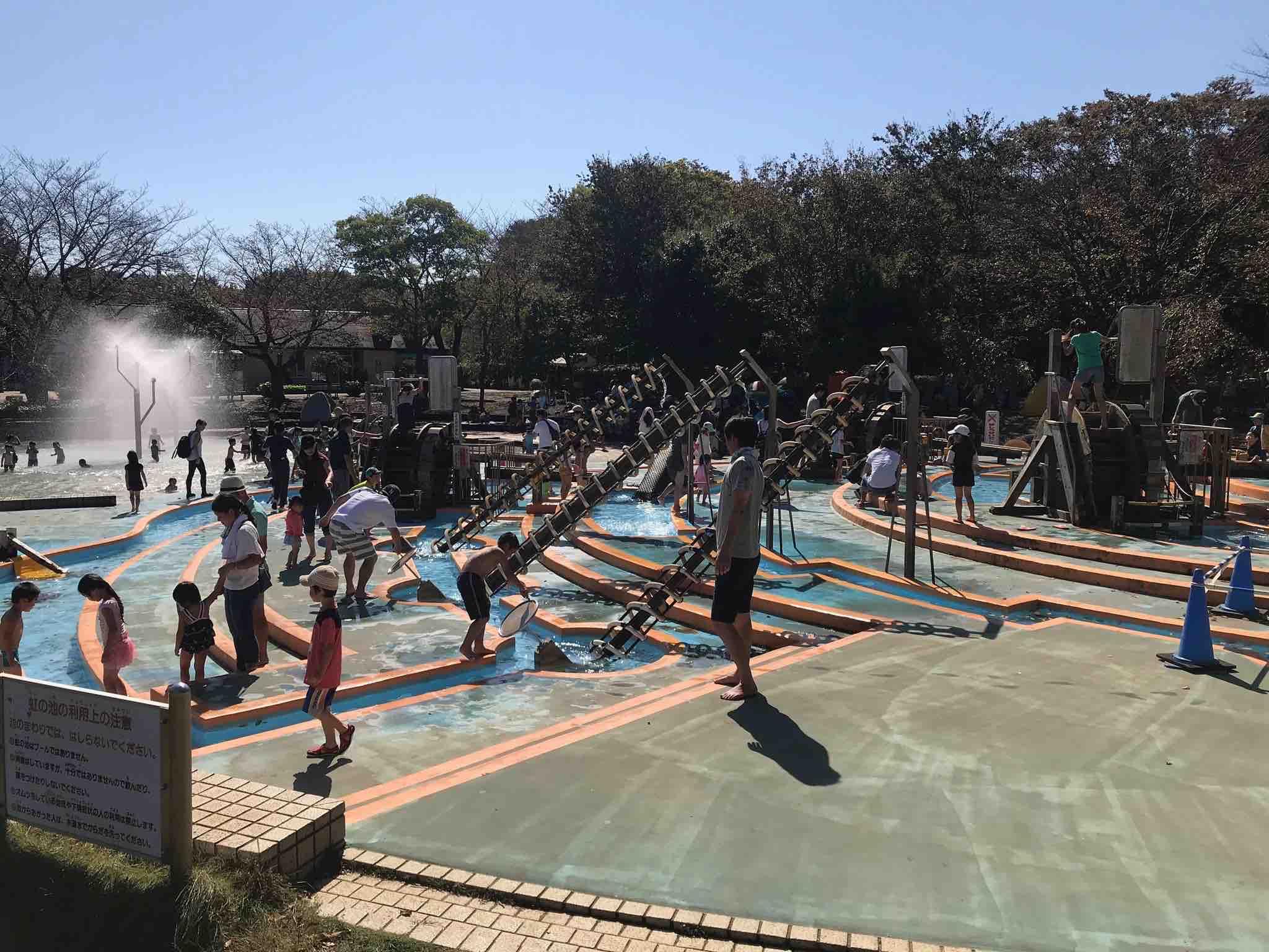 アンデルセン公園アルキメデスの泉