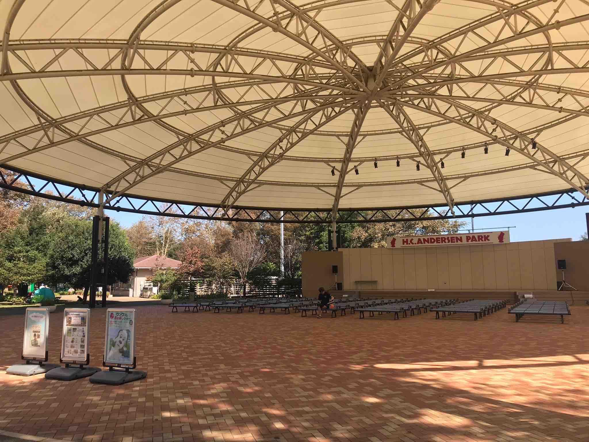 アンデルセン公園 イベントドーム