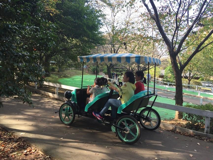 アンデルセン公園 変形自転車