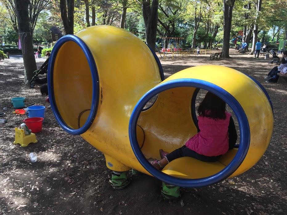 大蔵運動公園スプリング遊具