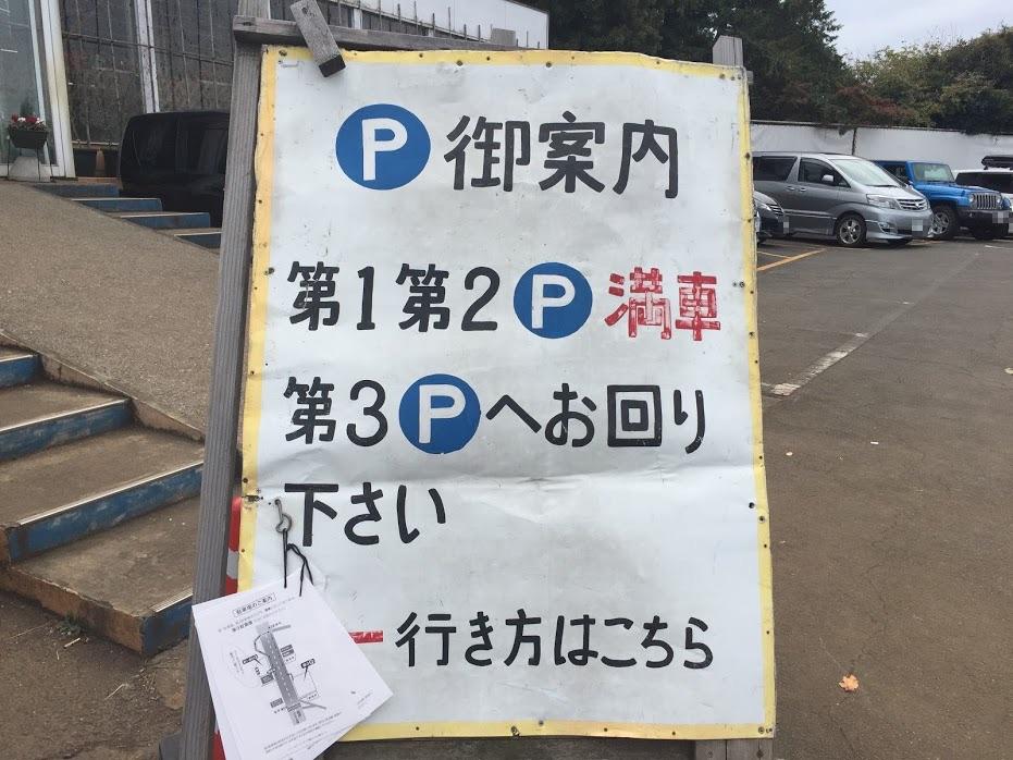 つくし野アスレチック駐車場満車