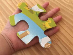 幼児パズル大きさ