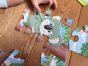 幼児知育ジグゾーパズル