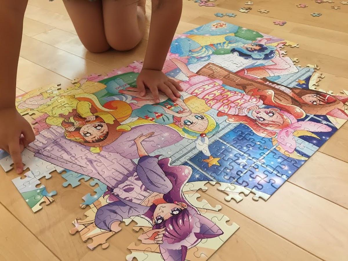 幼児ジグゾーパズル500ピース