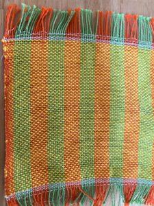機織りコースター